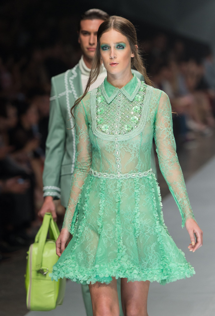 Michael Cinco - Runway - Fashion Forward Dubai October 2014